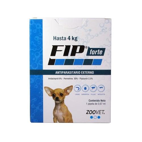 Краплі від бліх та кліщів для собак вагою до 4 кг